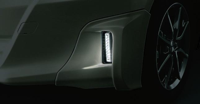 HONDA ホンダ FIT フィット ホンダ純正 ロアスカート フロント用 LEDライト ホワイトLED 左右セット 【 2010.10~2012.04】||