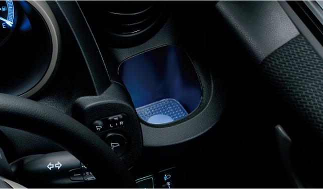 HONDA ホンダ FIT フィット ホンダ純正 カップホルダーイルミネーション ブルー照明 インストルメントパネル部用/左右セット 【 2010.10~2012.04】||