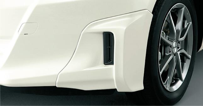 HONDA ホンダ FIT フィット ホンダ純正 ロアスカート フロント(セパレートタイプ)【 2012.05~次モデル】||