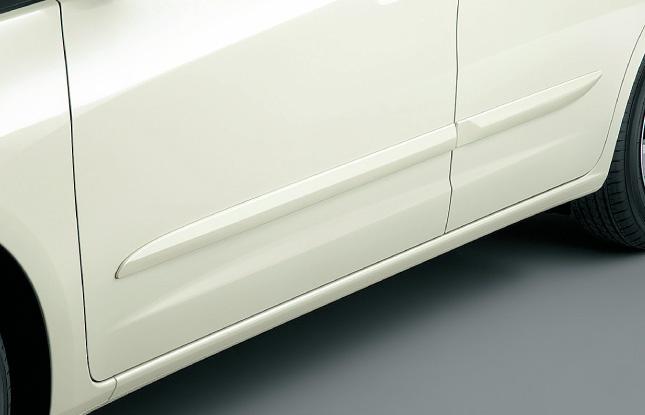 HONDA ホンダ FIT フィット ホンダ純正 ボディサイドモールディング(カラードタイプ)【 2012.05~次モデル】||