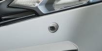 HONDA ホンダ FIT フィット ホンダ純正 コーナーカメラシステム(2ビュー) カラーCMOSカメラ(約120万画素)/2ビュー切り替え、ガイド線表示あり【 2013.9~次モデル】||
