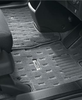 HONDA ホンダ FREED フリード ホンダ純正 フロアカーペットマット/プレミアムタイプ ライトグレー 2011.10~2012.3 || 08P15-SYY-A20 08P15-SYY-H20 08P15-SYY-B20 08P15-SYY-J20 GB3 GB4 GP3 フロアマット 車種別 カーマット 床 車 高品質 上質 交換 フロア カー マット