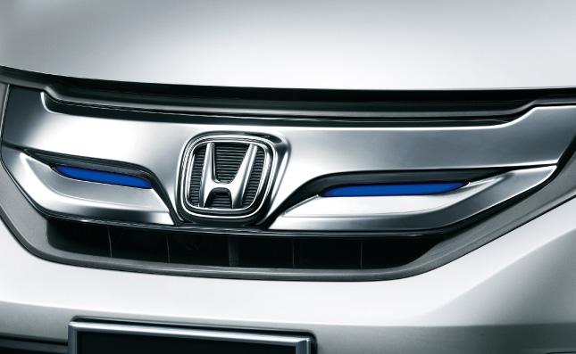 HONDA ホンダ FREED フリード ホンダ純正 LEDフロントグリル Hybrid用 ブルーLEDイルミ付【 2012.04~次モデル】||