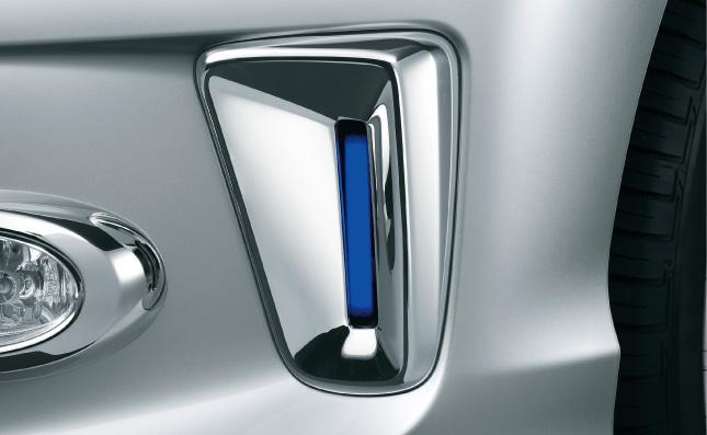 HONDA ホンダ FREED フリード ホンダ純正 LEDクロームガーニッシュ LEDイルミネーション(ブルー)付【 2013.04~次モデル】||