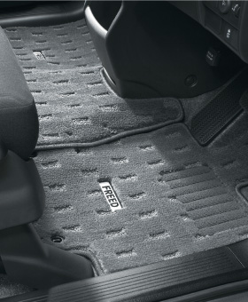 HONDA ホンダ FREED フリード ホンダ純正 フロアカーペットマット プレミアムタイプ ライトグレー 7人乗り用 2013.04~仕様変更 || 08P15-SYY-B20 08P15-SYY-J20 GB3 GB4 GP3 フロアマット 車種別 カーマット 床 車 高品質 上質 交換 フロア カー マット 車種専用 車内