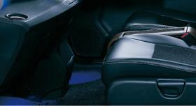 HONDA ホンダ FREEDSpike フリードスパイク ホンダ純正 フットライト・フロント(ブルー 左右セット)本体+取付アタッチメントセット【 2010.7~2011.9】 || ライト 車 内装 室内 イルミネーション イルミ 後付け 照明 アクセサリー