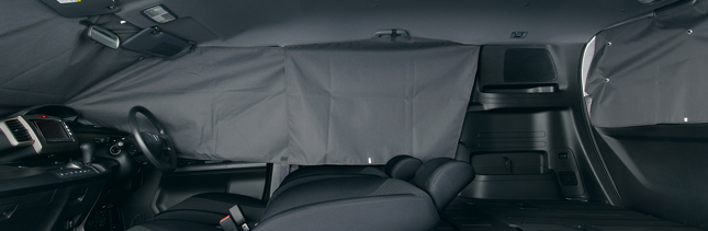 HONDA ホンダ FREEDSpike フリードスパイク ホンダ純正 プライバシーシェード(1台分)【 2011.10~2012.03】||