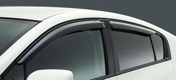 サイドバイザー/ドアバイザー TOYOTA トヨタ AQUA/アクア 対応型式NHP10 対応年式H23/12~次モデル || ドア バイザー 雨 雨よけ 後付け 取り付け 交換 部品 パーツ