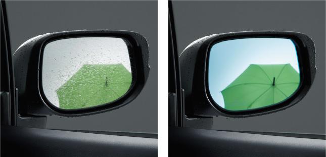 HONDA ホンダ INSIGHT インサイト ホンダ純正 アクアクリーンミラー(親水式ドアミラー 左右セット) 2011.10~次モデル||