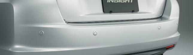 HONDA ホンダ INSIGHT インサイト ホンダ純正 リアコーナーセンサー&バックソナー 本体(カラードタイプ)+取付アタッチメント 2011.10~次モデル||