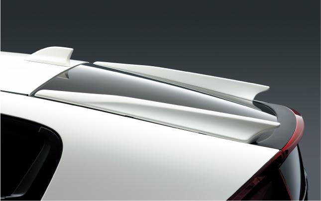 HONDA ホンダ INSIGHT インサイト ホンダ純正 テールフィン (全タイプ対応) 2011.10~次モデル||