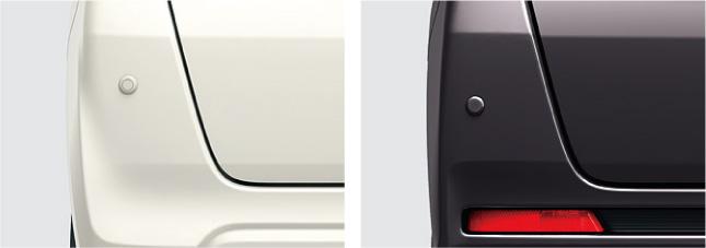 HONDA ホンダ 純正 NBOX N-BOX エヌボックス コーナーセンサー (超音波感知システム/リア用/左右セット)本体+取付アタッチメント 2012.12~2013.11||