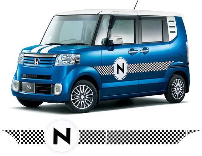 HONDA ホンダ 純正 NBOX+ N-BOX+ plus エヌボックスプラス デカール チェック 2012.7~2012.11||