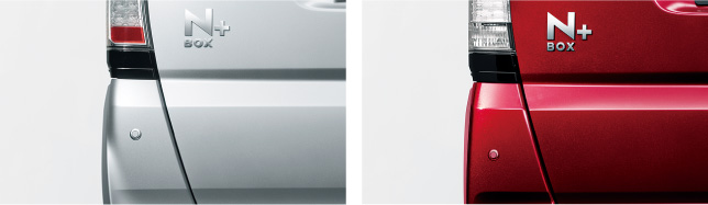 HONDA ホンダ 純正 NBOX+ N-BOX+ plus エヌボックスプラス コーナーセンサー(超音波感知システム/リア用/左右セット) 2012.7~2012.11||