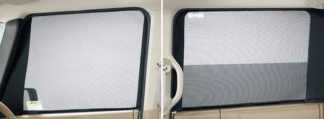 HONDA ホンダ 純正 NBOX+ N-BOX+ plus エヌボックスプラス ウインドウメッシュセット(網戸/フロントドア用・リアドア用4枚セット) 2012.7~2012.11||