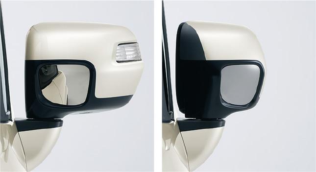 HONDA ホンダ 純正 NBOX+ N-BOX+ plus エヌボックスプラス オートリトラミラー (ドアロック連動タイプ) 2013.12~次モデル||
