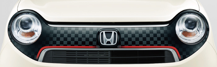 HONDA ホンダ NONE N-ONE エヌワン ホンダ純正 デカール フロントグリル チェッカー 2015.7~次モデル||