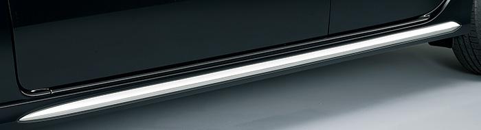 HONDA ホンダ NWGN N-WGN エヌワゴン ホンダ純正 サイドシルガーニッシュ (メッキ調フィルム加飾付/左右セット) 2013.11~次モデル||
