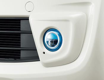 HONDA ホンダ NWGN N-WGN エヌワゴン ホンダ純正 LEDフォグライト 本体+取付アタッチメント+フォグライトガーニッシュ N-WGN用 2013.11~次モデル||