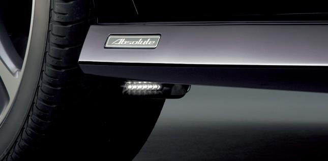 HONDA ホンダ ODYSSEY オデッセイ ホンダ純正 パドルライト(LED照明付) 高輝度LED(白色) 2011.10~次モデル||