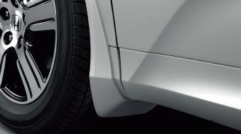 HONDA ホンダ ODYSSEY オデッセイ ホンダ純正 マッドガード (フロント/リア用 左右セット) B/G/G・EX用 2013.10~次モデル || 泥除け車 飛び石 車体保護 かっこいい 部品 パーツ