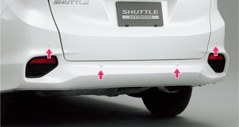 HONDA ホンダ SHUTTLE シャトル ホンダ純正 センサーインジケーターパッケージ リア用 【 2015.5~次モデル】||