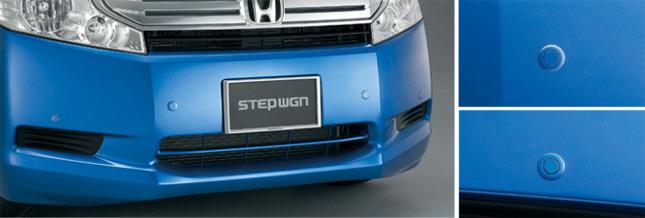 HONDA ホンダ STEPWGN ステップワゴン ホンダ純正 コーナーセンサー ( 2センサー ) リア用 + 取付アタッチメント 【 2011.08~2012.03】||