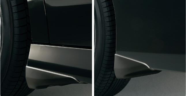 HONDA ホンダ STEPWGN ステップワゴン ホンダ純正 マッドガード ステップ ワゴン スパーダ用 カラードタイプ/4個セット【 2012.04~次モデル】 || 泥除け車 飛び石 車体保護 かっこいい 部品 パーツ