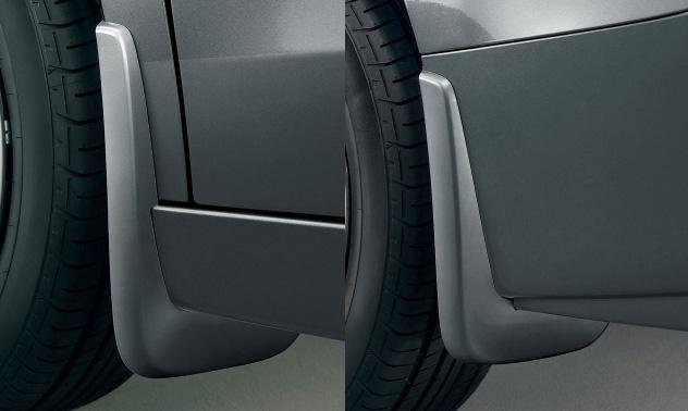 HONDA ホンダ STEPWGN ステップワゴン ホンダ純正 マッドガード ステップワゴン用 カラードタイプ/4個セット【 2012.04~次モデル】 || 泥除け車 飛び石 車体保護 かっこいい 部品 パーツ