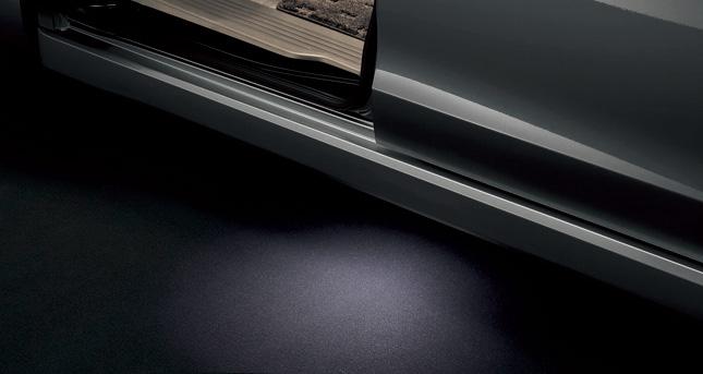 HONDA ホンダ STEPWGN ステップワゴン ホンダ純正 パドルライト LED照明(白色)左右セット【 2012.04~次モデル】||