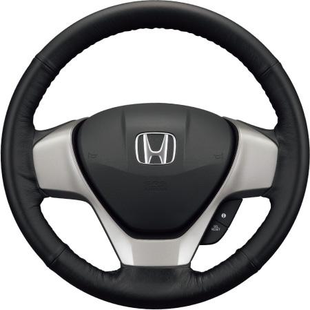 HONDA ホンダ STEPWGN ステップワゴン ホンダ純正 ステアリングホイールカバー(本革製)【 2012.04~次モデル】||