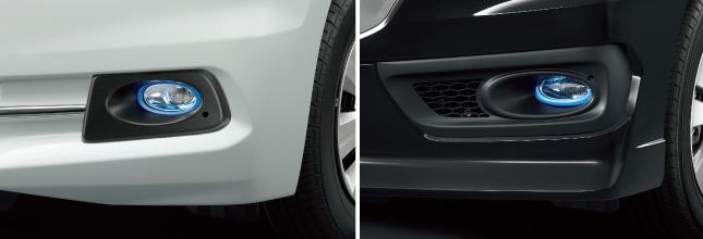 HONDA ホンダ STEPWGN ステップワゴン ホンダ純正 LEDフォグライト ステップ ワゴン スパーダ用 【 2014.4~次モデル】||