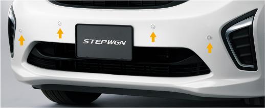 HONDA ホンダ STEPWGN ステップワゴン ホンダ純正 センサー(超音波感知システム)/ステップ ワゴン スパーダ用【 2015.4~次モデル】||