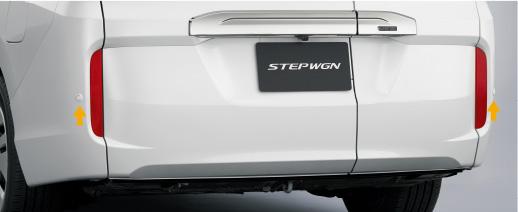 HONDA ホンダ STEPWGN ステップワゴン ホンダ純正 リアコーナーセンサー(2センサー)/ステップ ワゴン スパーダ用【 2015.4~次モデル】||