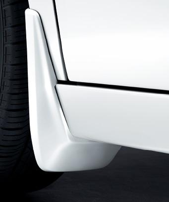 ステップ ワゴン用(フロント・リア用/左右4点セット) マッドガード パーツ 飛び石 泥除け車 ステップワゴン 部品 ホンダ 2015.4~次モデル】 車体保護 STEPWGN || 【 HONDA ホンダ純正 かっこいい