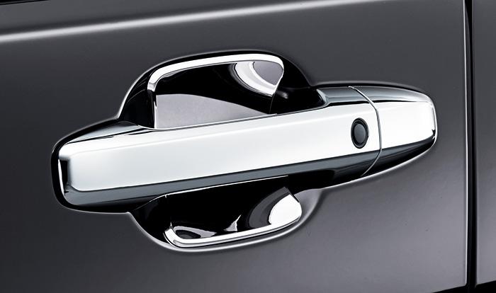 HONDA ホンダ STEPWGN ステップワゴン ホンダ純正 ドアハンドルプロテクションカバー(クロームメッキ/フロント・リア用 4枚セット) 【 2015.4~次モデル】||