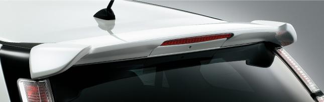 HONDA ホンダ STREAM ストリーム ホンダ純正 テールゲートスポイラー ハイマウント・ストップランプ(赤)付【 2012.04~次モデル】||