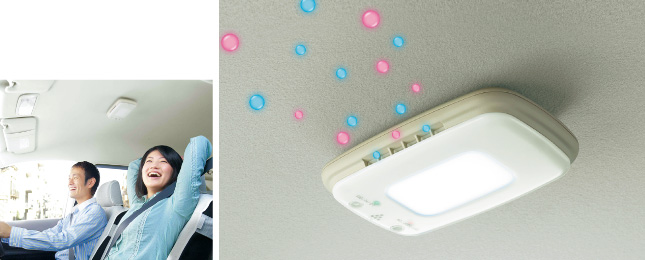 HONDA ホンダ STREAM ストリーム ホンダ純正 プラズマクラスター搭載LEDルーフ照明【 2012.04~次モデル】  