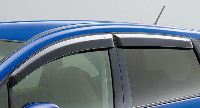 HONDA ホンダ STREAM ストリーム ホンダ純正 ドアバイザー(4枚セット)【 2012.04~次モデル】 || ドア バイザー 雨 雨よけ 後付け 取り付け 交換 部品 パーツ