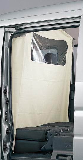 HONDA ホンダ VAMOS バモス ホンダ純正 セパレートカーテン 【 2012.6~次モデル】||