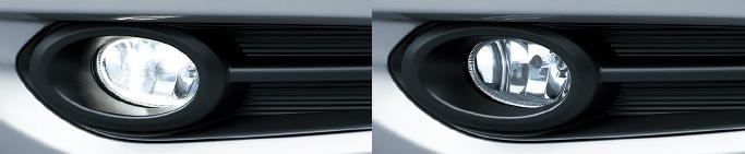 HONDA ホンダ VEZEL ヴェゼル ホンダ純正 ハロゲンフォグライト(クリア/35W〈片側〉/左右セット)【 2013.12~次モデル】||