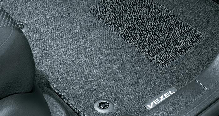 HONDA ホンダ VEZEL ヴェゼル ホンダ純正 フロアカーペットマット スタンダードタイプ 2015.4~仕様変更 || 08P14-T7A-010 RU1 RU2 RU3 RU4 ヴェゼルハイブリッド VEZELHYBRID フロアマット 車種別 カーマット 床 車 高品質 上質 交換 フロア カー マット 車種専用 車内
