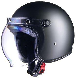 LEAD リード工業 Murrey MR-70 ジェットヘルメット スモーキーシルバー Mサイズ   ジェット ヘルメット ヘルメ バイク 原付 メンズ レディース シールド バブルシールド かっこいい インナー おしゃれ ワンタッチ 交換 バイク用品 リード 開閉 UV ヴィンテージ ポイント消化