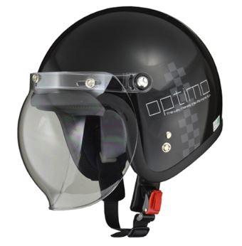 LEAD リード工業 MOUSSE ジェットヘルメット CHECK BLACK | ジェット ヘルメット ヘルメ バイク 原付 メンズ レディース クリア シールド バブルシールド かっこいい インナー おしゃれ デザイン ワンタッチ 交換 開閉 UV バイク用品 リード ポイント消化