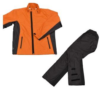 LEAD リード工業 RW-054 スリムレインスーツ オレンジ Lサイズ | バイクウェア レインスーツ レインウェア 上下セット バイク用品 メンズ レディース バイク ウェア パンツ インナー スリム かっこいい 細身 軽量 リード 釣り アウトドア ポイント消化