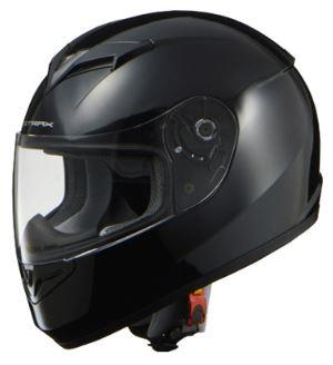 LEAD リード工業 STRAX SF-12 フルフェイスヘルメット ブラック Lサイズ | フルフェイス ヘルメット ヘルメ かっこいい バイク おしゃれ 原付 シールド インナー あごひも ワンタッチ 交換 全排気量 黒 ブラック リード バイク用品 内装 洗浄 高機能 通勤 ポイント消化
