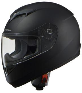 LEAD リード工業 STRAX SF-12 フルフェイスヘルメット マットブラック Lサイズ | フルフェイス ヘルメット ヘルメ かっこいい バイク おしゃれ 原付 シールド インナー あごひも ワンタッチ 交換 全排気量 マットブラック リード バイク用品 高機能 洗浄 通勤 ポイント消化