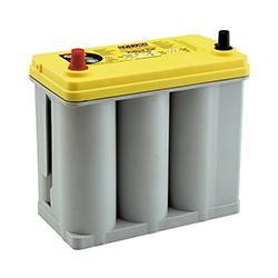 大自工業 メルテック オプティマバッテリー イエロートップ YT-B24R | バッテリー上がり バッテリー交換 バッテリー 寿命 バッテリー 交換 車 交換時期 オプティマ バッテリー OPTIMA 高性能 電源 スターター パワフル エンジン 緊急 応急 非常 カー用品 カーバッテリー