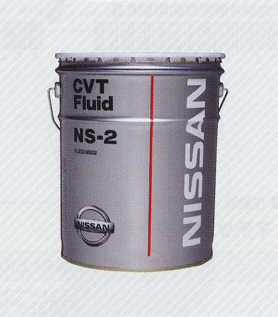[エレクトロニックCVT]搭載車専用日産純正フルード NISSAN/日産純正オイル CVTフルードNS-2 4L缶||
