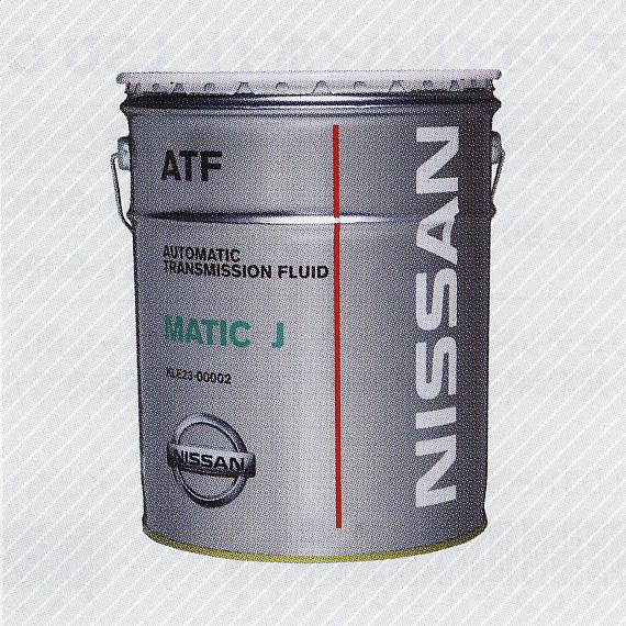 NISSAN/日産純正オイル マチックフルードJ 20L缶  